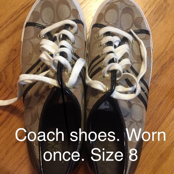 Coach Shoes - Coach Sneakers Size 8